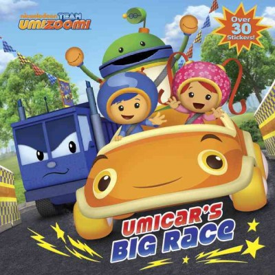 Umicar's Big Race (Team Umizoomi) - (Pictureback(r)) (Paperback)