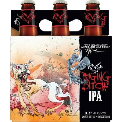 Flying Dog Raging Bitch Belgian IPA Beer - 6pk/12 fl oz Bottles