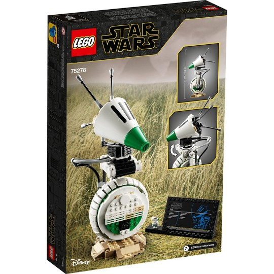 LEGO Star Wars D-O; Star Wars: The Rise of Skywalker Building Toy 75278 image number null