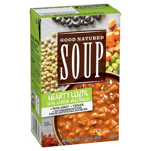 Good Natured Soup Hearty Lentil with Garden Vegetables 17 oz - image 1 of 1