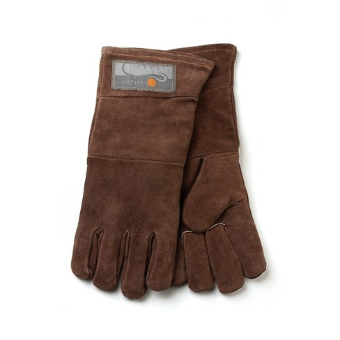 Leather Grill Gloves - 2pc - Outset - image 1 of 2