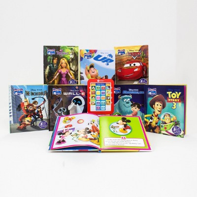Pi Kids Disney Mickey Mouse and Pixar Friends! Electronic Me Reader 8-Book Library Boxed Set