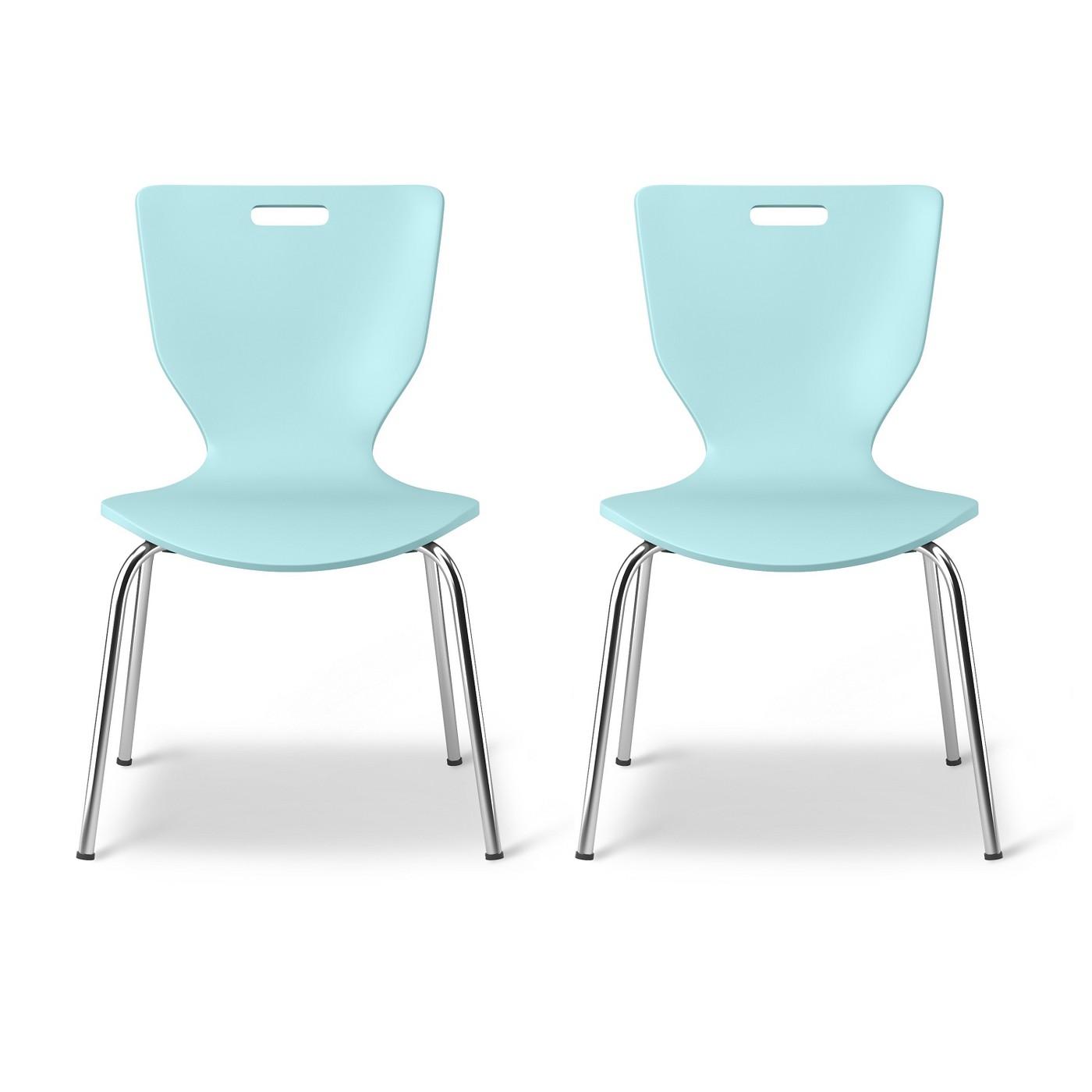 Scoop Kids Activity Chair - Seafoam Green (Set of 2) - Pillowfort™ - image 1 of 4