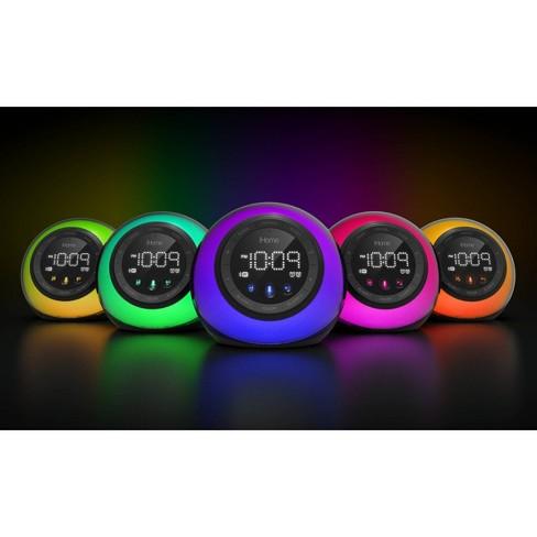 iHome® IBT29 Bluetooth Alarm Clock - Black/Blue