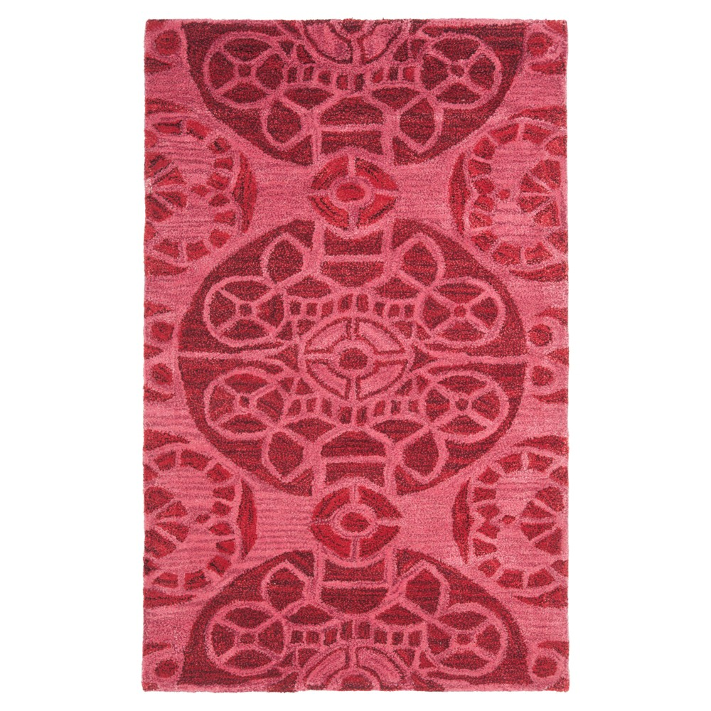 Jermayne Area Rug - Red (3'x5') - Safavieh