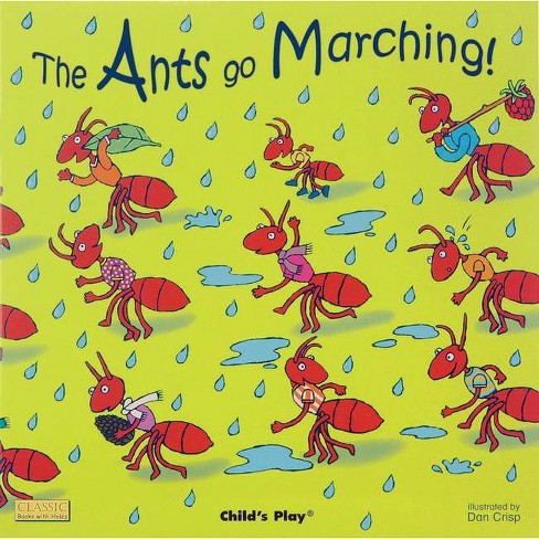 The Ants Go Marching - (Classic Books with Holes 8x8) (Paperback) - image 1 of 1