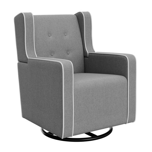 Graco Tufted Remi Upholstered Swivel Glider - image 1 of 6