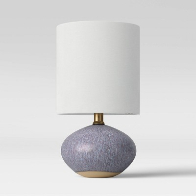 Ceramic Glaze Accent Lamp Gray - Project 62™
