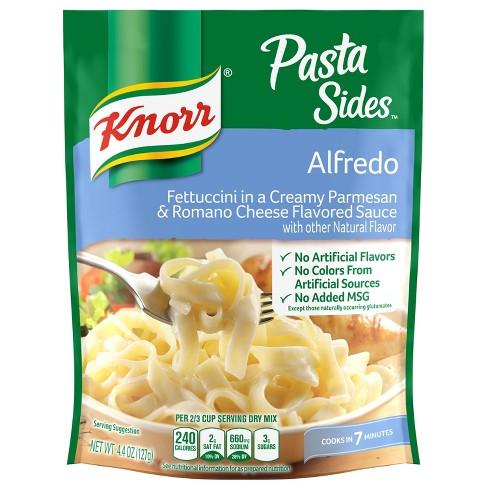 Knorr Pasta Sides Pasta Side Dish Alfredo - 4.4oz - image 1 of 4