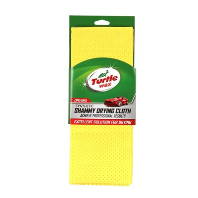 """26""""x27"""" Synthetic Perforated Chamois Yellow - Turtle Wax"""