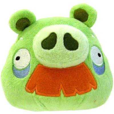 """Commonwealth Toys Angry Birds 16"""" Deluxe Plush Grandpa Pig"""