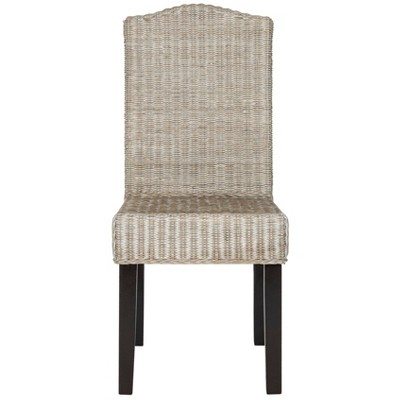 Set Of 2 Odette Wicker Dining Chair - Safavieh : Target