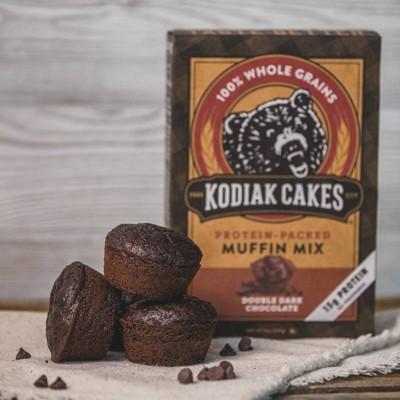 Kodiak Cakes Protein Packed Muffin Mix Double Dark Chocolate - 14oz