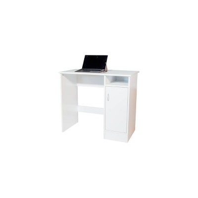Madison Computer Desk with Cabinet - OneSpace