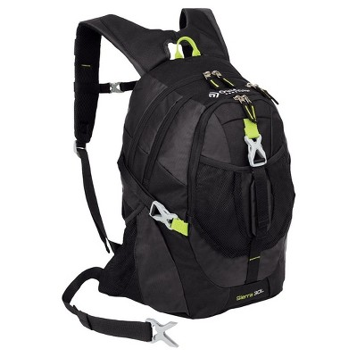 "Outdoor Products Sierra 19.7"" Day Backpack - Black"