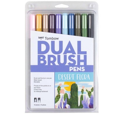 Tombow 10ct Dual Brush Pen Art Markers - Desert Flora