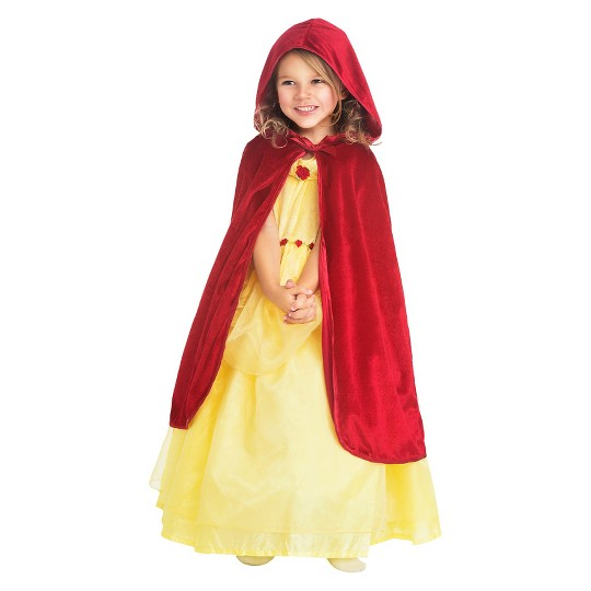 Little Adventures Girls' Cloak - Red S/M, Size: Small/Medium image number null