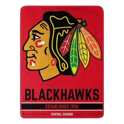 NHL Chicago Blackhawks Micro Throw Blanket