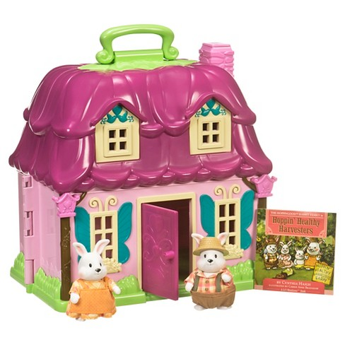 Li'l Woodzeez Toy House with Animal Figurines - Countryside Cottage - image 1 of 3
