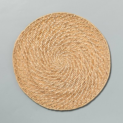 "13"" Woven Plate Charger - Hearth & Hand™ with Magnolia"