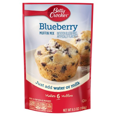 Baking Mixes: Betty Crocker Blueberry Muffin Mix