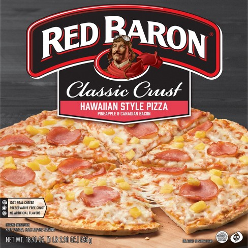 Red Baron Classic Hawaiian Style Frozen Pizza - 18.9oz - image 1 of 3