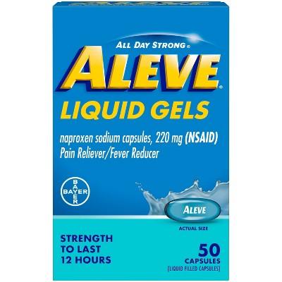 Aleve AcetaminophenLiquid Gels (NSAID) - 50ct