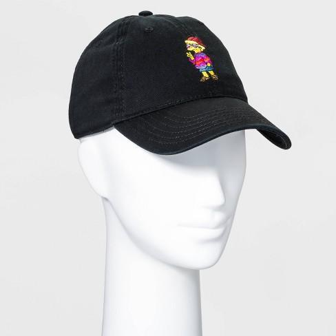 The Simpsons Women's Lisa Baseball Hat - Black - image 1 of 2