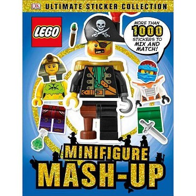 Ultimate Sticker Collection: LEGO Minifigure: Mash-up! (Paperback) by Dorling Kindersley Publishing Staff