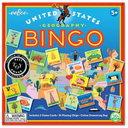 U.S.A. Bingo Game - image 1 of 4
