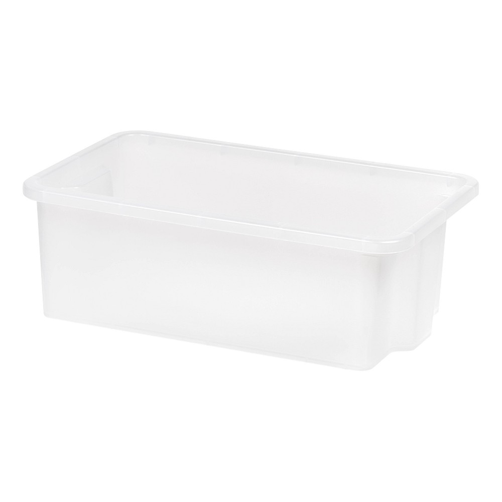 Iris Small Stacking Storage Tray - Clear