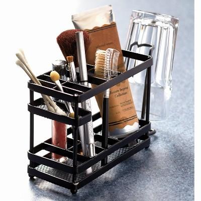 Lakeside Metal Bathroom Countertop Organizer and Storage Tray
