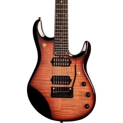 Ernie Ball Music Man 20th Anniversary John Petrucci JP7 7-String Electric Guitar Honey Butter Burst