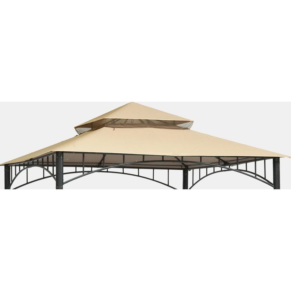 Madaga 10' x 10' Replacement Gazebo Canopy - Cream - Threshold