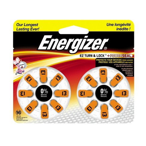 Energizer Hearing Aid Size 13 Batteries 16 ct - image 1 of 1