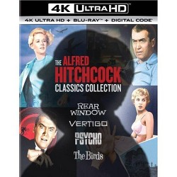 The Alfred Hitchcock Classics Collection (4K/UHD)(2020)
