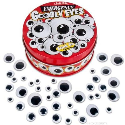 Accoutrements Emergency Googly Eyes With Stick On Adhesive
