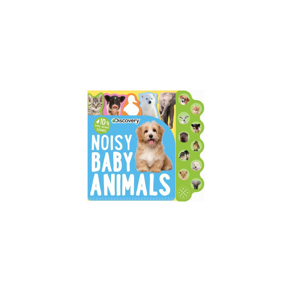Discovery Noisy Baby Animals : 10 Baby Animal Sounds (Hardcover)