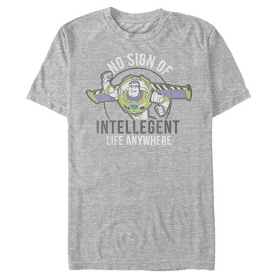 Men's Toy Story Buzz No Sign Of Intelligent Life T-Shirt