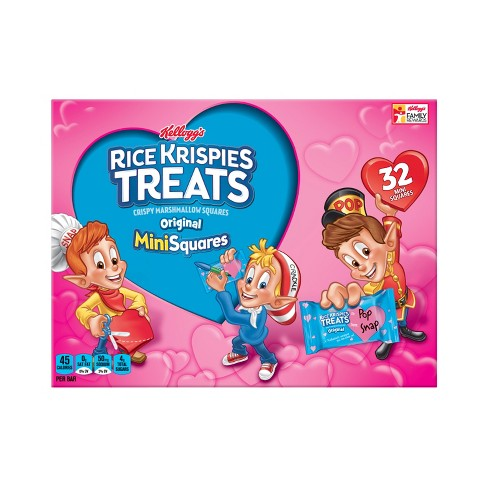 Rice Krispies Treats Valentine's Mini Squares - 32ct - Kellogg's - image 1 of 4
