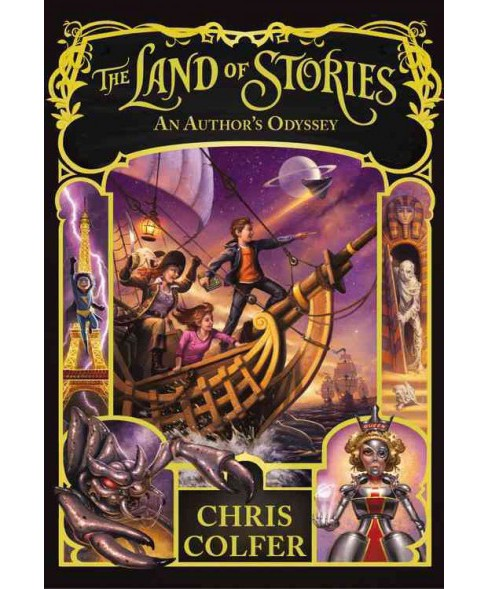Author's Odyssey -  Reprint (Land of Stories) by Chris Colfer (Paperback) - image 1 of 1