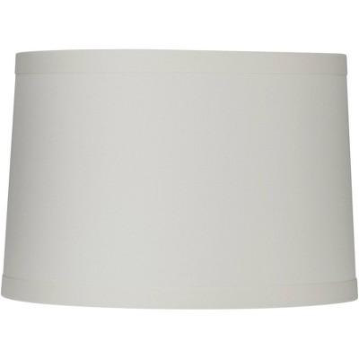 Springcrest White Linen Drum Lamp Shade 15X16X11 (Spider)