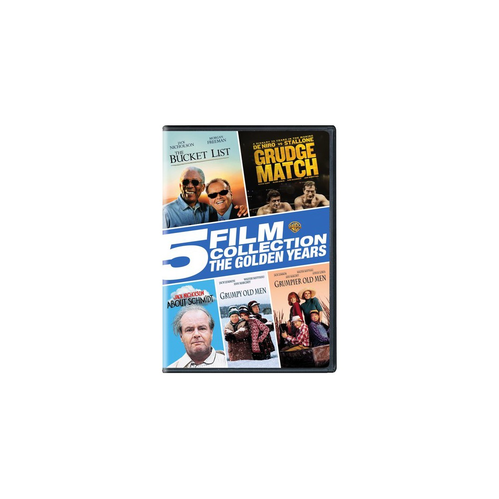 5 Film Collection:Golden Years (Dvd)