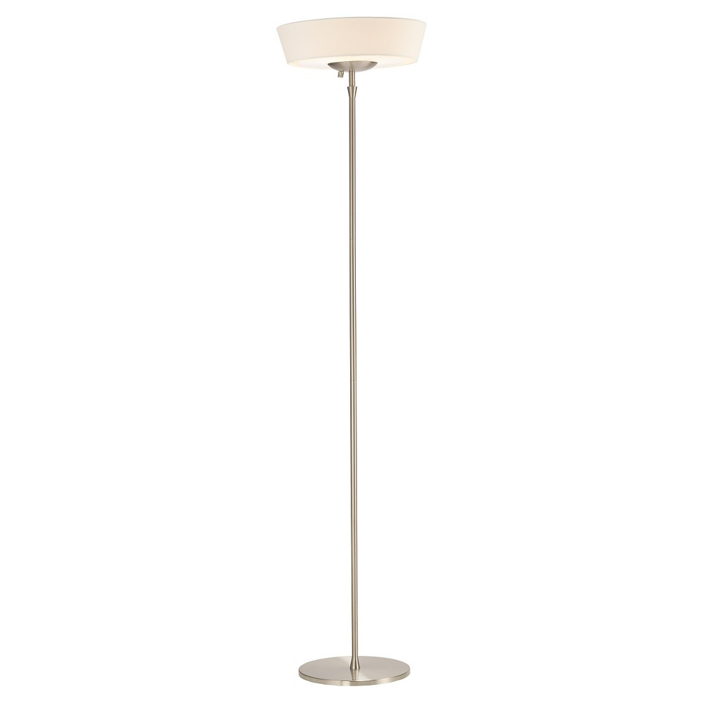 Image of Adesso Harper Floor Lamp (Lamp Only) - Silver