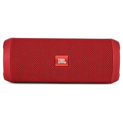 JBL Flip 4 Waterproof Smart Speaker with Google Assistant - Red