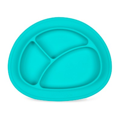 Nuby Oval Sectioned feeding mat - Aqua