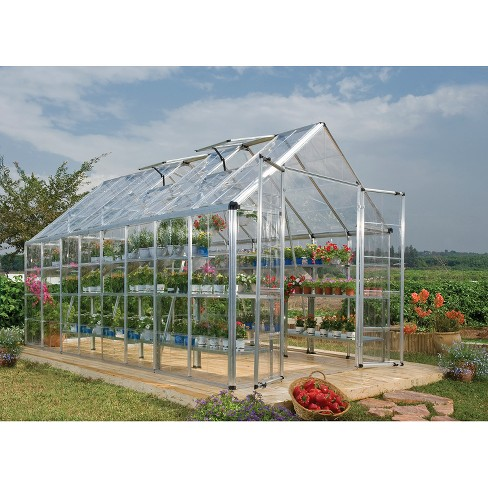 8' X 16' Snap And Grow Professional GreenHouse - Palram ...
