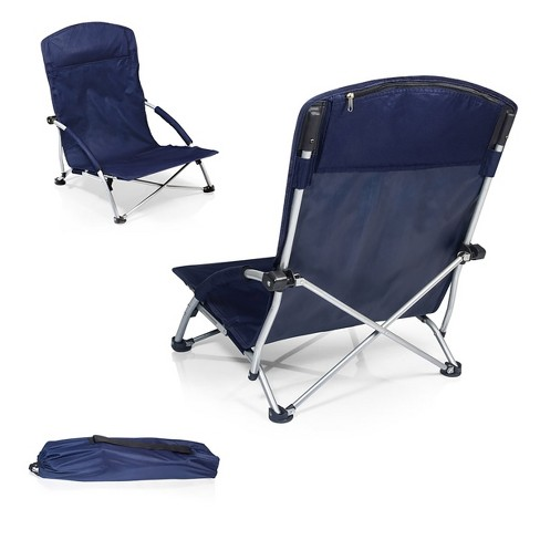 Picnic Time Tranquility Chair with Carrying Case - Navy (8.0 Lb) - image 1 of 5