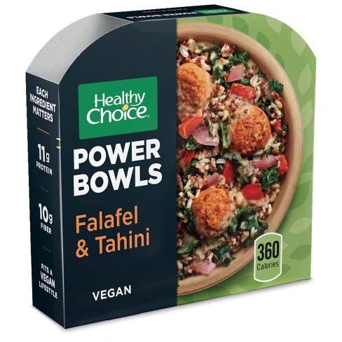 Healthy Choice Falafel & Tahini Frozen Power Bowls - 9.6oz - image 1 of 4