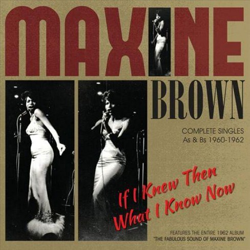 Maxine brown - If i knew then (CD) - image 1 of 1